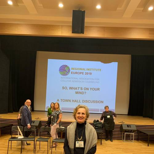 OUR COLLEGE COUNSELOR VISITS IACAC IN SOFIA, BULGARIA