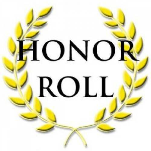 Congratulations to all Seniors on Honor Roll