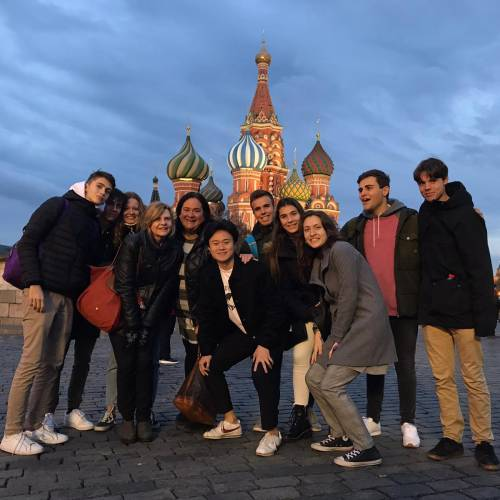 Our IBDelegation got safely to Moscow!