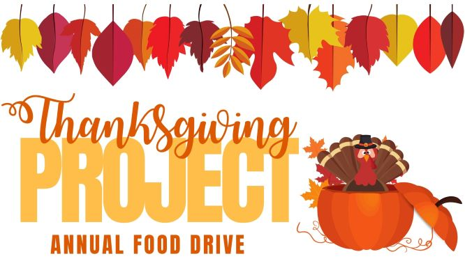 THANKSGIVING ANNUAL FOOD DRIVE
