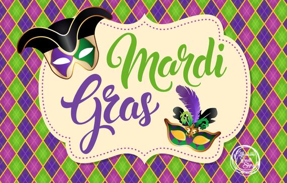 NO SCHOOL – Mardi Gras