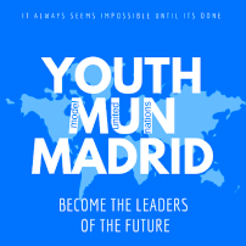 AAS students at the Spanish Senate – Youth Model United Nations Madrid