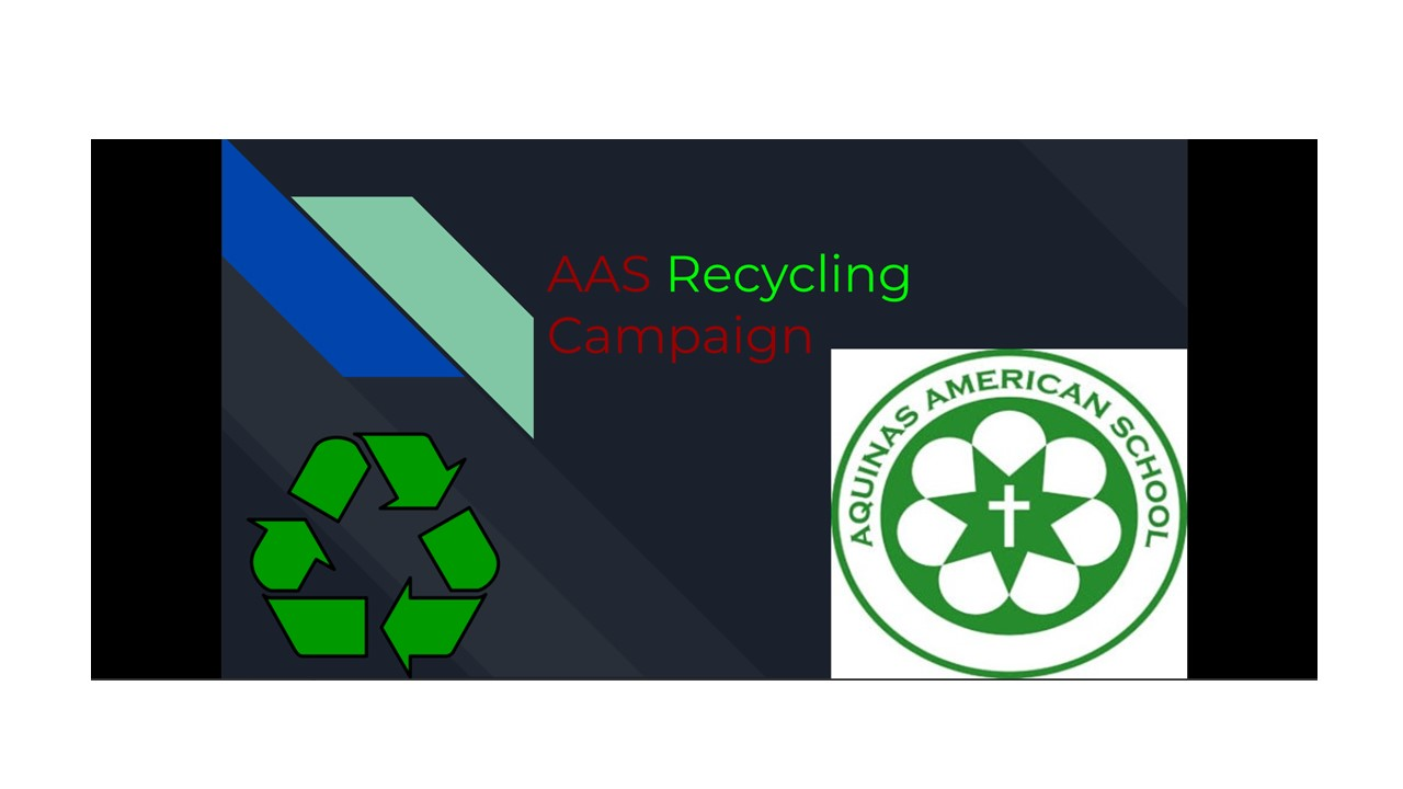Mr. Bok's HS Creative Writing Class launches a Recycling Campaign!