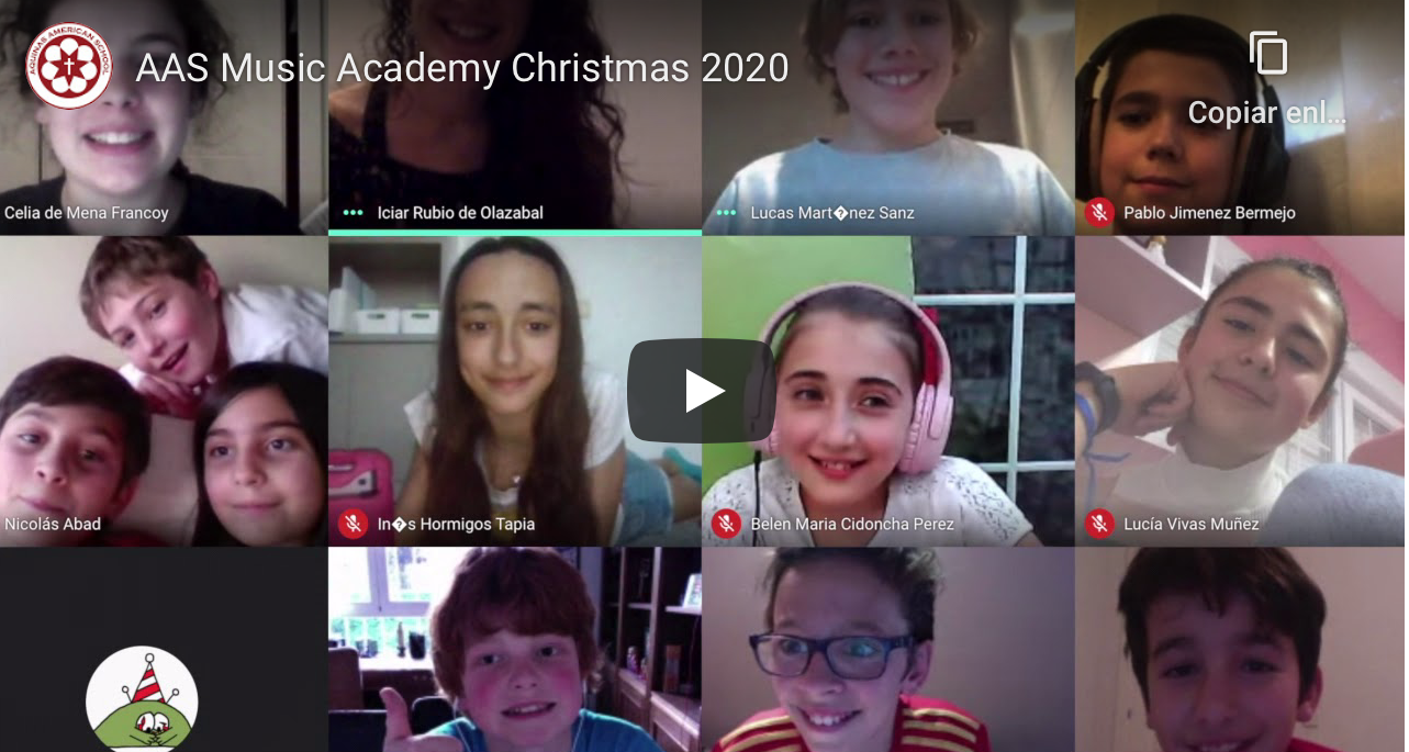 Merry Christmas from our Music Academy! (watch video)