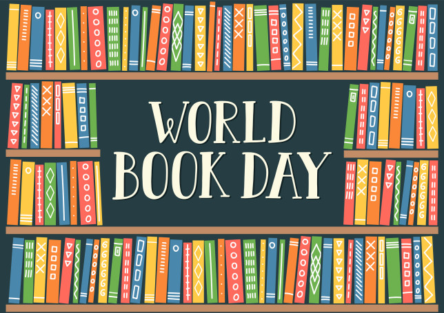 World book Day! read a book, share a story!